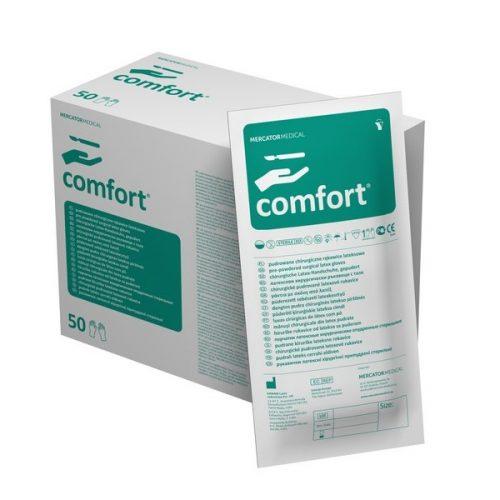 Comfort manusi f pudra latex 1 per