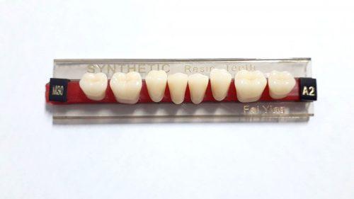 Garnitura dinti acrilat laterali inferiori