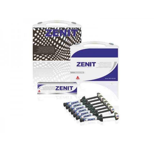 Kit 7 X 4 gr seringi de compozit Nano Ceramic Zenit