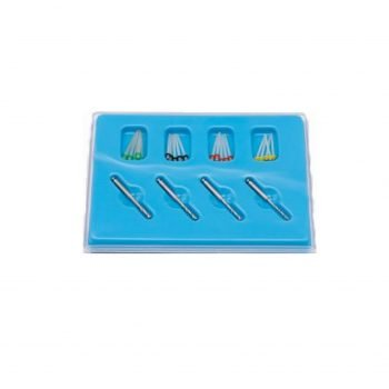Set asort pivoti endodontici fibra de sticla 20 buc + 4 freze