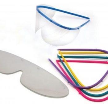 Ochelari de protectie 1 rama si 2 rezerve
